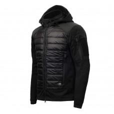 Куртка M-TAC WIKING LIGHTWEIGHT BLACK софтшел, био-пух SUSTANS