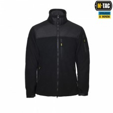 Куртка флисовая M-Tac Alpha Microfleece Jacket GEN.2 420 гм black