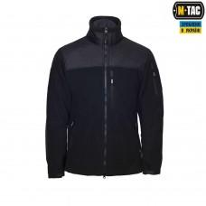 Куртка флісовая M-Tac Alpha Microfleece Jacket GEN.2 420 гм DARK NAVY
