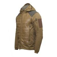 Куртка M-TAC WIKING LIGHTWEIGHT COYOTE софтшел, био-пух SUSTANS