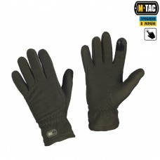 Зимові рукавиці M-Tac Winter Olive з Touchscreen