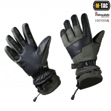 Зимние перчатки M-Tac POLAR TACTICAL THINSULATE OLIVE