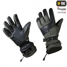 Зимние перчатки M-Tac POLAR TACTICAL THINSULATE OLIVE