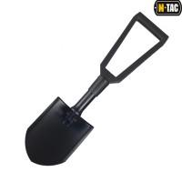 Лопатка M-Tac складна з чохлом чорна