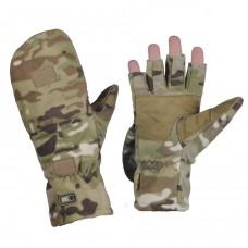 Беспалые зимние перчатки WINDBLOCK 295 MULTICAM M-TAC