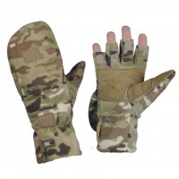 Безпалі зимові рукавички M-TAC WINDBLOCK 295 MULTICAM