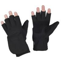 Зимові безпалі рукавички M-TAC WINDBLOCK 295 BLACK