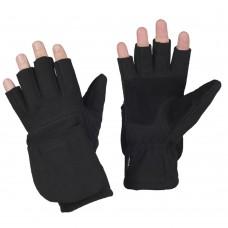 Купить Беспалые зимние перчатки WINDBLOCK 295 BLACK M-TAC в интернет-магазине Каптерка в Киеве и Украине