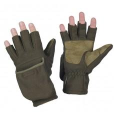 Беспалые зимние перчатки WINDBLOCK 295 OLIVE M-TAC
