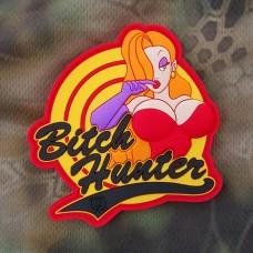 Bitch Hunter резиновый шеврон патч