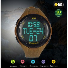 Часы с шагомером M-Tac COYOTE TACTICAL