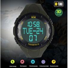 Часы с шагомером M-Tac OLIVE TACTICAL