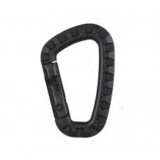 Купить Карабін пластиковий Чорний в интернет-магазине Каптерка в Киеве и Украине
