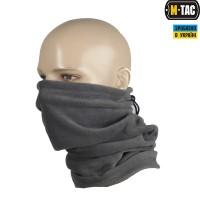 M-Tac шарф-труба з затяжкою фліс (260г/м2) сірий