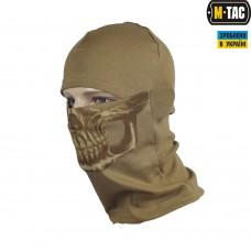 M-Tac Балаклава с черепом Reaper Skull койот