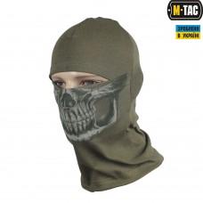 M-Tac Балаклава с черепом Reaper Skull олива