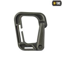 M-Tac карабін пластиковий Grimloc олива