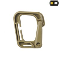 M-Tac карабін пластиковий Grimloc койот