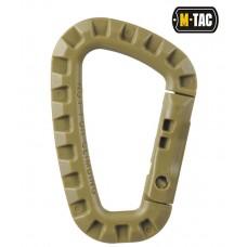 Карабін пластиковий M-Tac (койот)