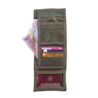 M-Tac кошелек  с отделением для карточек олива