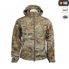Куртка софтшел M-TAC SOFT SHELL Multicam