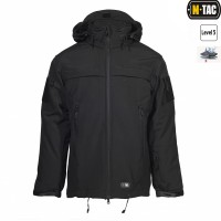 Куртка софтшелл M-TAC SOFT SHELL POLICE BLACK