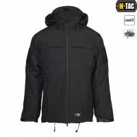 Куртка софтшел M-TAC SOFT SHELL POLICE BLACK