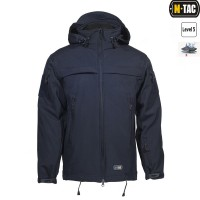 Куртка софтшелл M-TAC SOFT SHELL POLICE NAVY BLUE