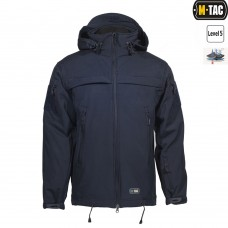 Куртка софтшел M-TAC SOFT SHELL POLICE NAVY BLUE