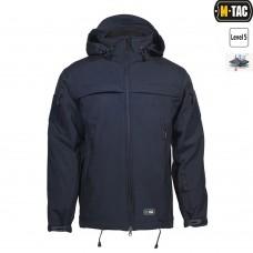 Куртка софтшелл M-TAC SOFT SHELL POLICE NAVY BLUE