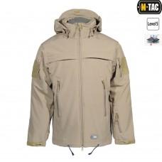 Куртка софтшел M-TAC SOFT SHELL POLICE TAN