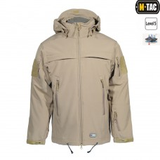 Куртка софтшел M-TAC SOFT SHELL POLICE TAN