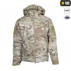 Куртка софтшел M-TAC с флисовой подстежкой. Камуфляж мультикам