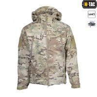 Куртка софтшелл M-TAC з флісовою підстібкою мультикам