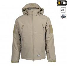 Куртка софтшел M-TAC с флисовой подстежкой КОЙОТ