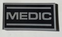 PVC патч Medic чорний