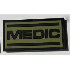 PVC патч Medic олива