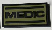 Резиновый патч Medic олива