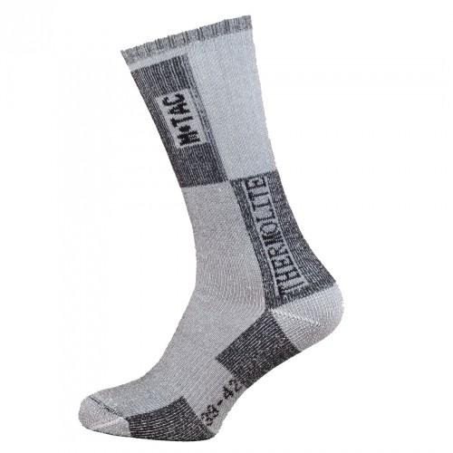 Купить Зимние носки M-TAC THERMOLITE 80% GREY в интернет-магазине Каптерка  в ... 58467529fc0