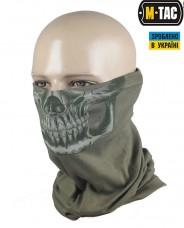 M-Tac шарф-труба типа бафф Череп Reaper Skull олива