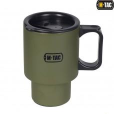 Термокружка M-Tac с крышкой олива 450мл