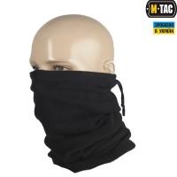 Зимовий шарф-труба M-Tac з затяжкою, колір чорний
