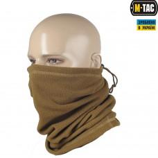 M-Tac зимний шарф-труба с завязкой цвет coyot