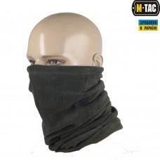 M-Tac зимний шарф-труба с завязкой цвет олива