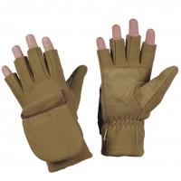 Зимові безпалі рукавички M-TAC WINDBLOCK 295 COYOTE BROWN