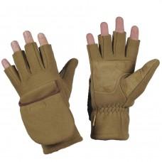 Зимові безпалі рукавички M-TAC WINDBLOCK 295 TAN