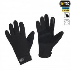 Зимние перчатки виндблок M-Tac WINTER TACTICAL WINDBLOCK 295 черный