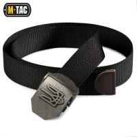 Ремень с Тризубом M-TAC Black