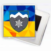 Магніт 10 ОГШБр з новим знаком бригади