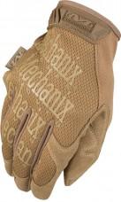 Тактичні рукавички Mechanix ORIGINAL GLOVES Coyote